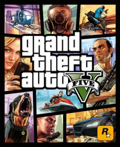 GTA 5 Cover CD