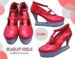 Scarlet Heels 295rb